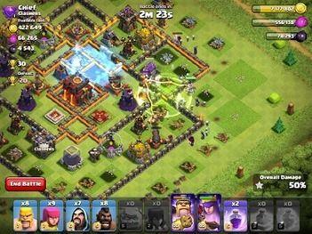 hack clash of clans unlimited gems coc mod apk