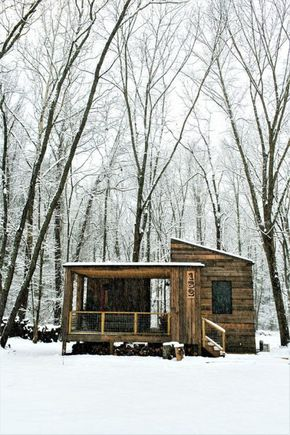 330 Sq Ft Tiny Cabin Near Asheville Tiny House Cabin