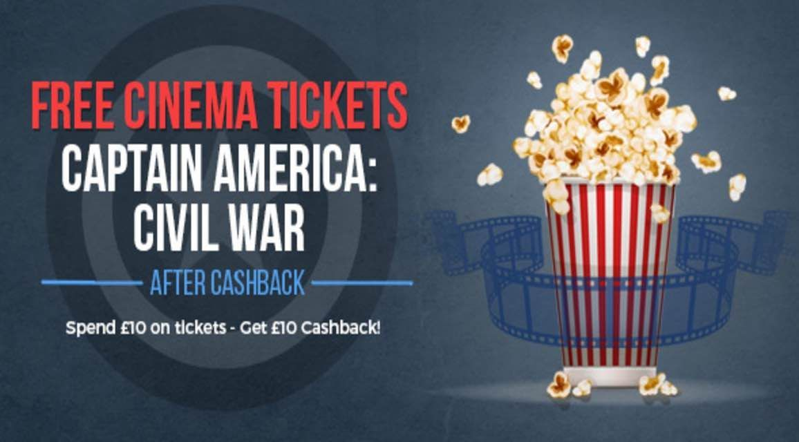 Free captain america civil war tickets cinema tickets