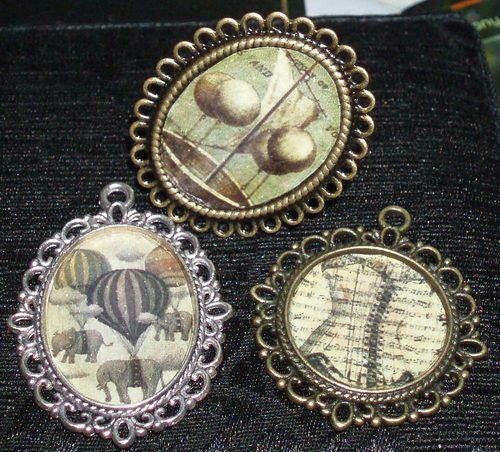 steampunk diy | Tumblr - striping pants, mixing metal paints, jewelry  more