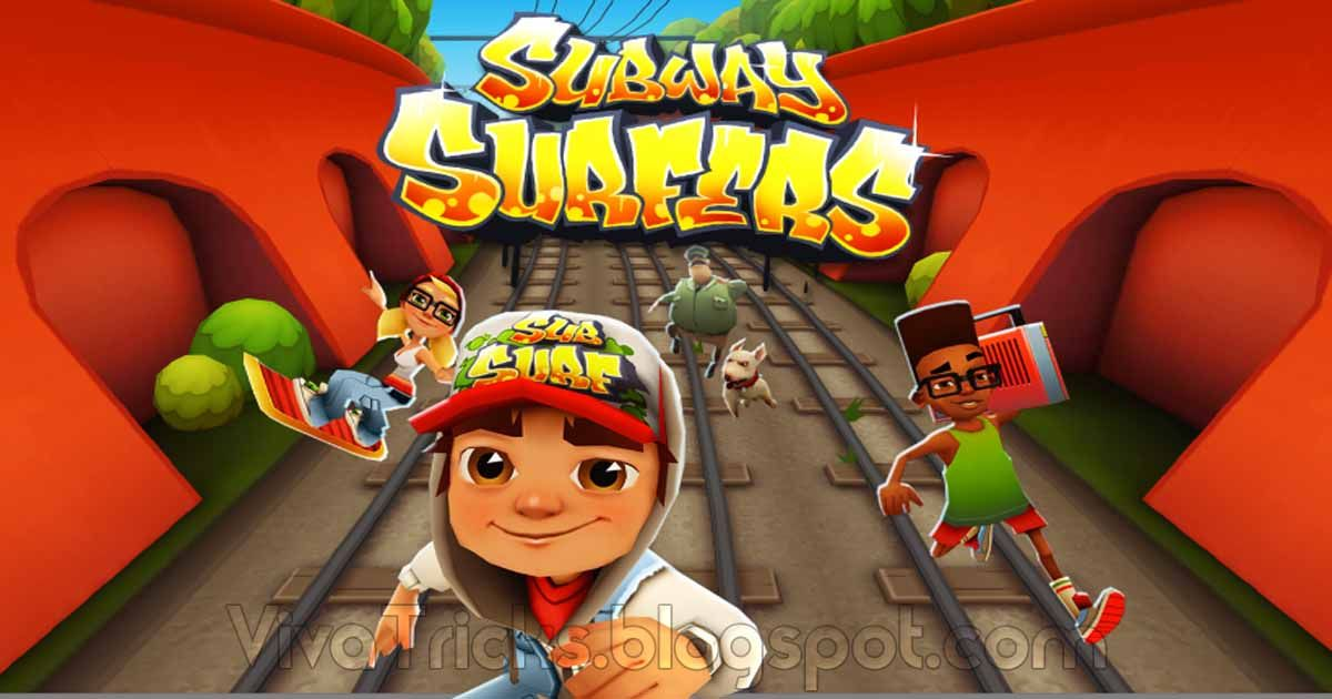 The Subway Surfers Is A Free Game Available For Download On Android