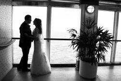 Shauna David Wedding Aboard Princess Cruises In Alaska