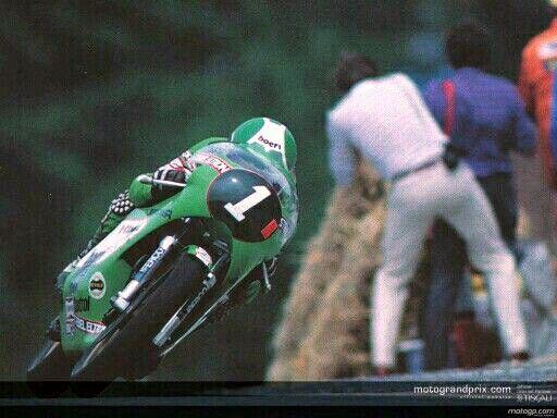 Anton Mang Kawasaki KR250 1981