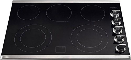 Frigidaire Fgec3067ms 30 Smooth Top Electric Cooktop Black Stainless Trim With Images Electric Cooktop Stainless Steel Cooktop Frigidaire Gallery