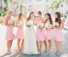 cute pic w/ bridemaids