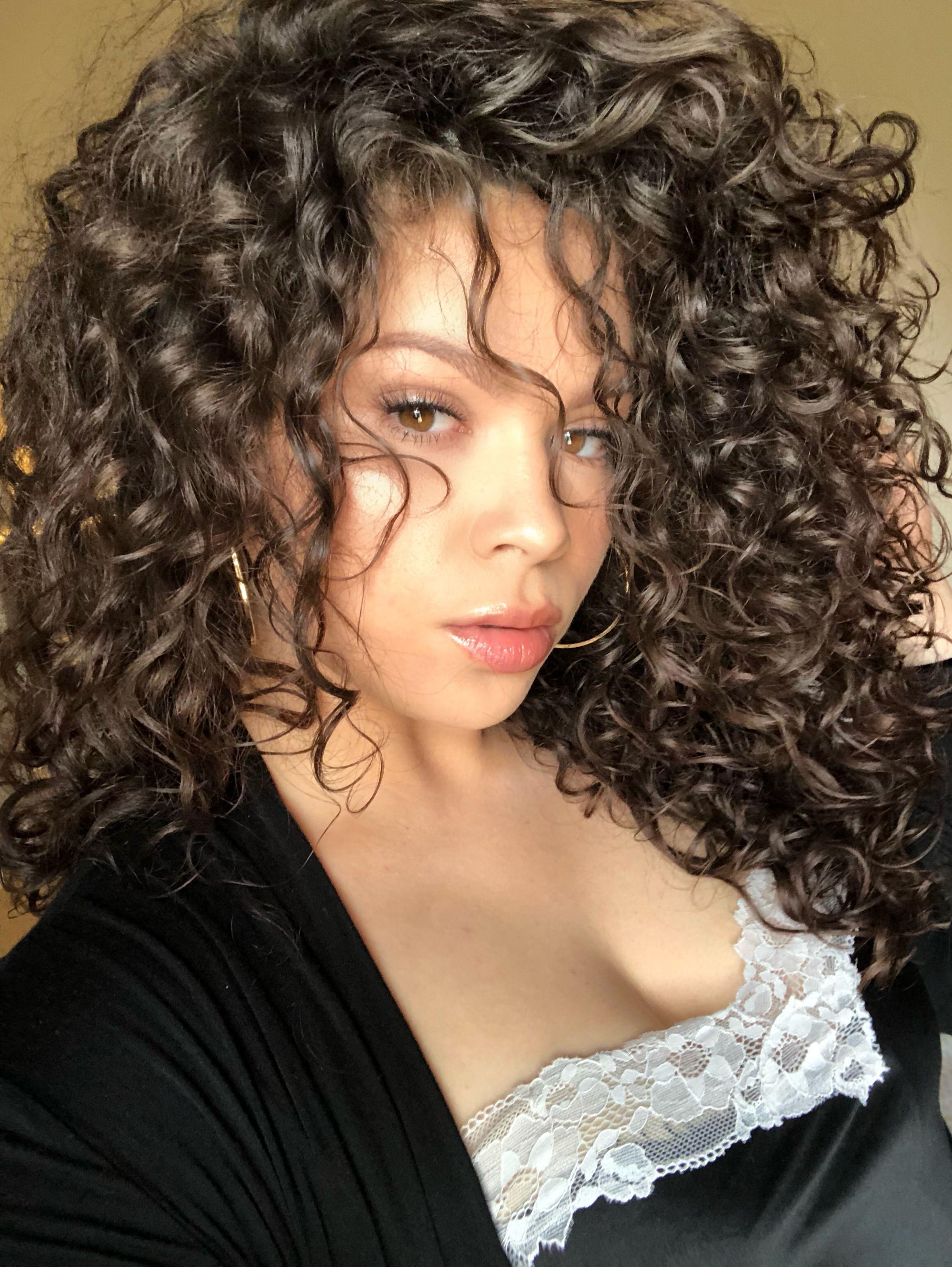 Curly Hair Natural Hair 3a 3b Curls Instagram Vivalacathy Curly