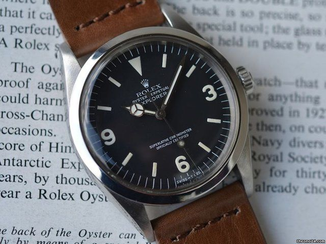 "Rolex Explorer 1 Ref. 1016 aus dem Jahr 1978 ""Hacking"" for $8,017 for sale from a Trusted Seller on Chrono24"