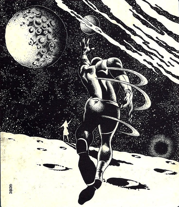 Classic Sci Fi Unforgettable Japanese Pulp Illustrations: The Church - Art