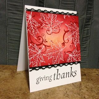 Bucket Full of Cards: Giving Thanks