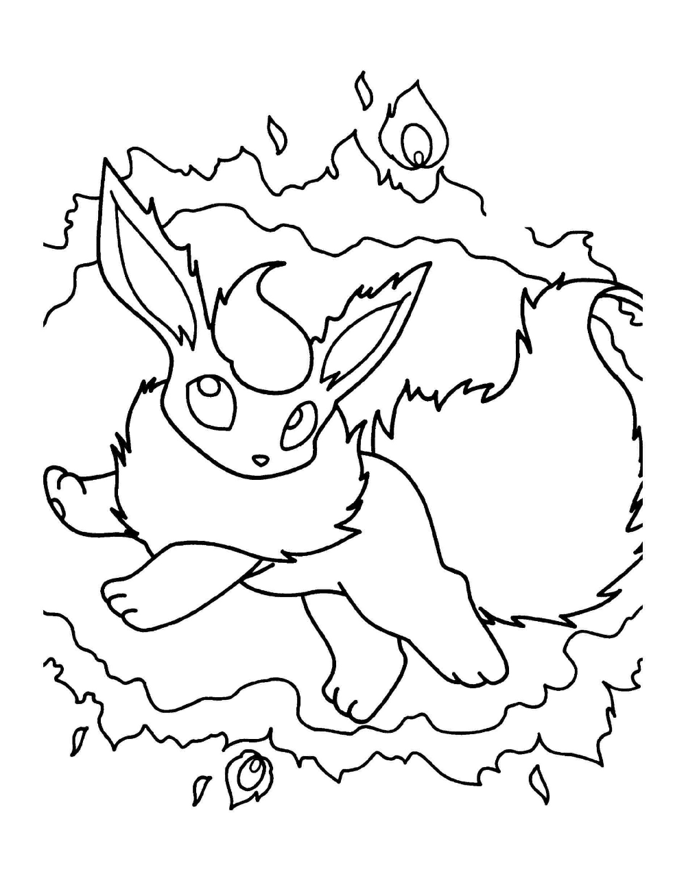 Flareon Coloring Pages Free Download Educative Printable Pokemon Coloring Pages Pokemon Coloring Halloween Coloring Pages