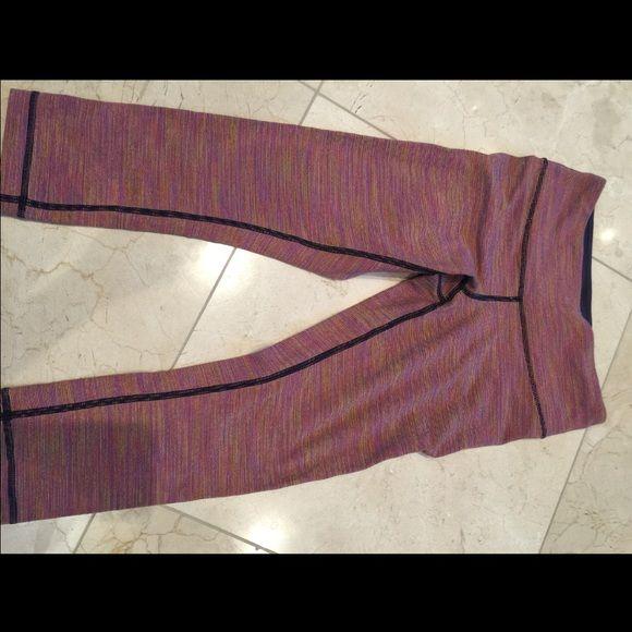 Lululemon Crop Legging Crop workout pants! Taking best offer, feel free to post an offer :) lululemon athletica Pants Ankle & Cropped