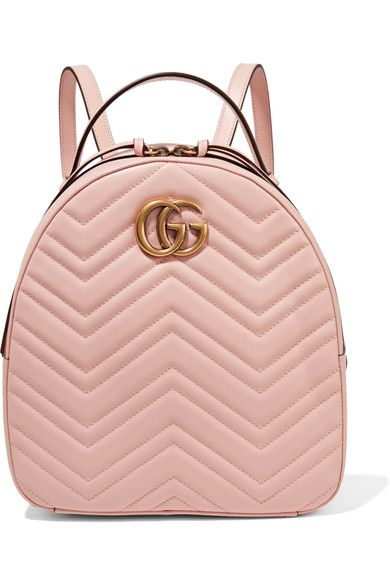 792ae3be7e51 GUCCI Gg Marmont Quilted Leather Backpack. #gucci #bags #leather #backpacks  #