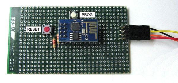 ESP8266 flash programming