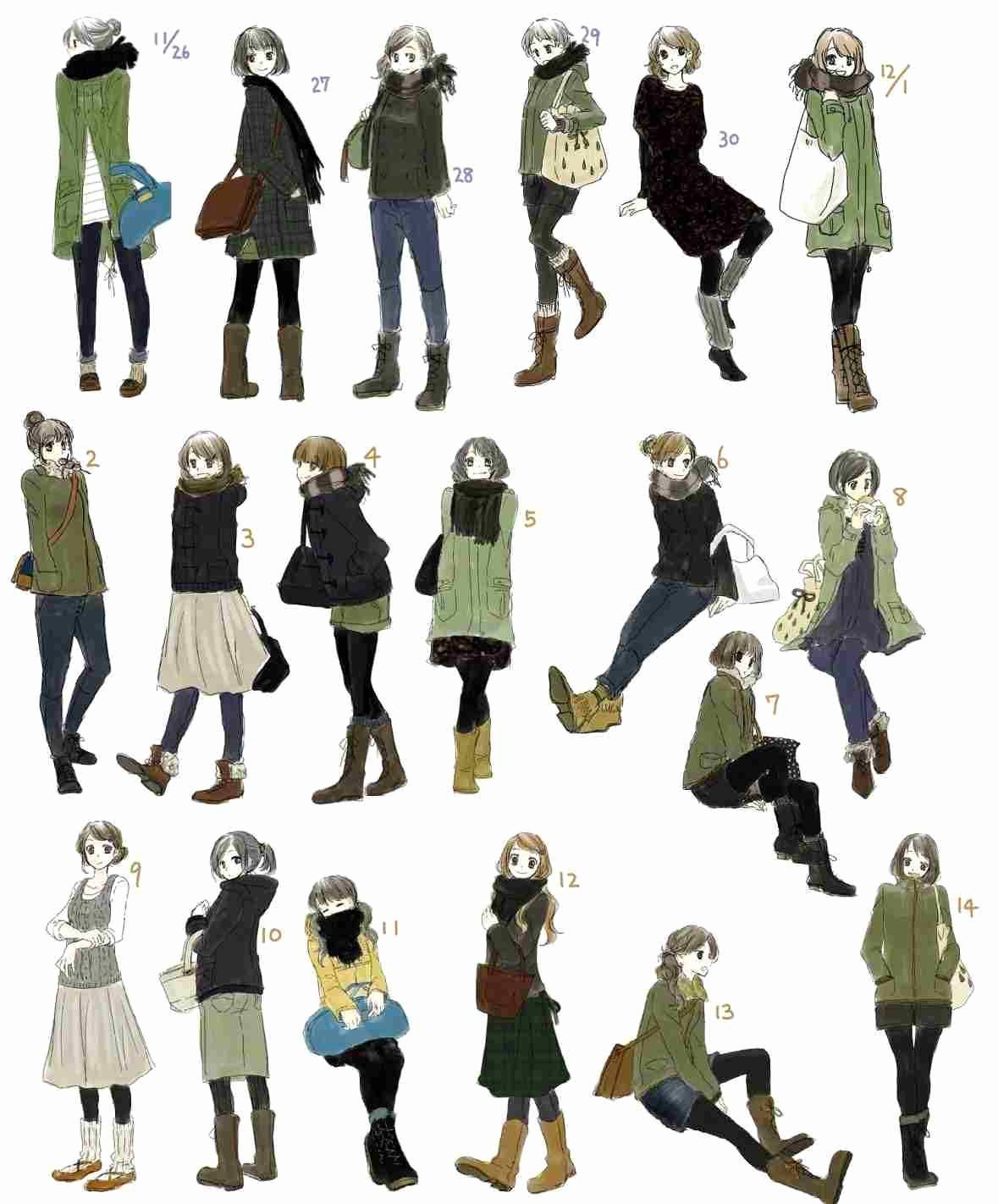12 Exquisite Learn To Draw Manga Ideas Character Design Girl Casual Art Fashion Drawing