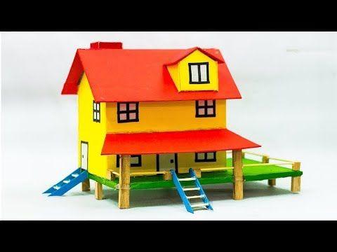 Youtube Cardboard House Cardboard City Cardboard Model