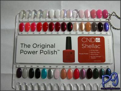 Polish Galore: CND: Shellac Fall 2012 - color names are on ...