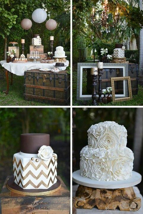Love the chevron cake<3