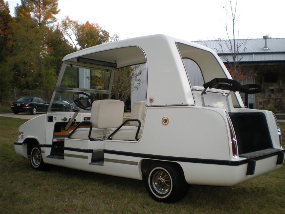 golf car cart escalade cadillac bibbllscgt