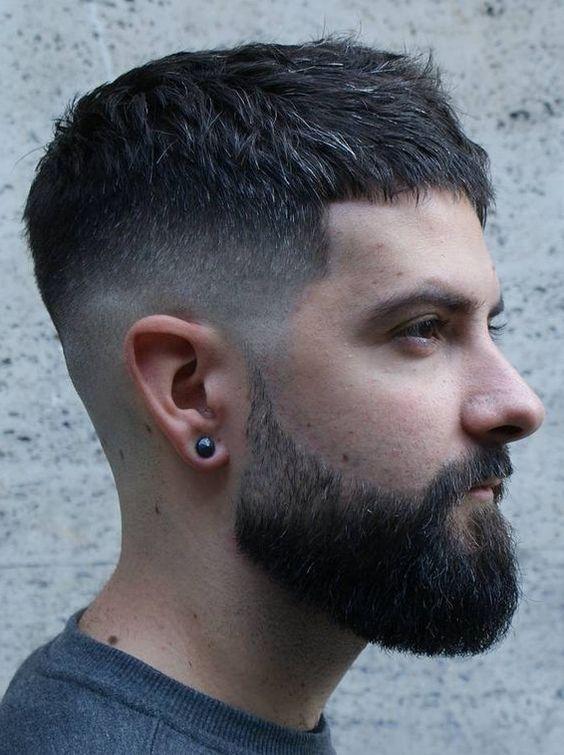 Modern Chic Frisur sucht nach Männern | Hair | Cabelo ...