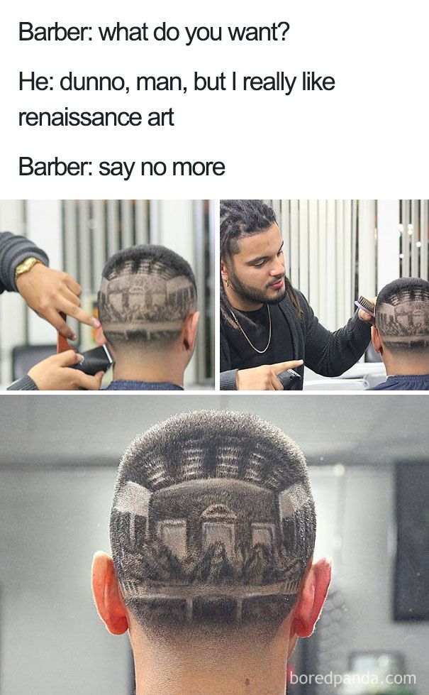 Part 1 Terrible Haircuts That Were So Bad They Became Say No More Memes Terrible Haircuts Funny Quotes Funny Memes