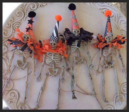 halloween Decoration Skeleton Garland Halloween Decoration Decor - creepy halloween decor