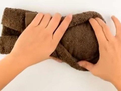 Zrób to z ręcznika. Goście będą zachwyceni | Ręcznik