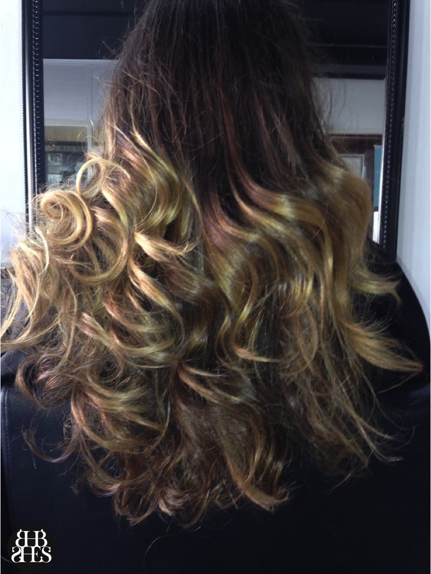 Simply Stunning Ombre Extensions By Sydney Hair Extension Studio