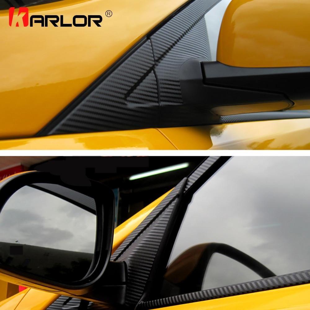 Auto Window Frame ABC Pillar Carbon Fiber Protection Film