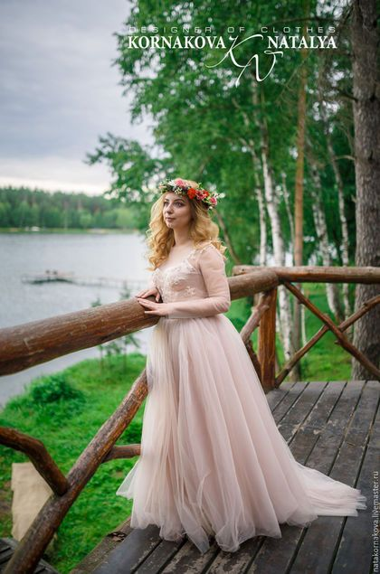 Photo of Wedding dress / Handmade clothing and accessories. …