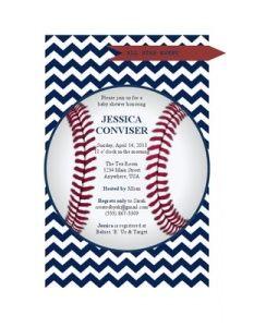 Baseball Shower Invitation Free Printable Baby