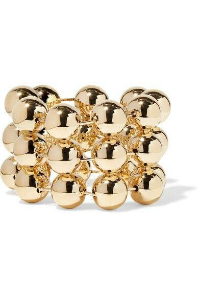 €545 BALENCIAGA  Gold-tone bracelet  €545