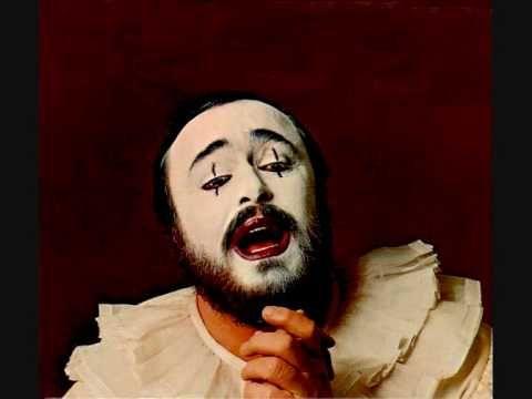 Luciano Pavarotti Recitar I Pagliacci R Leoncavallo Cantantes De Opera La Mejor Musica Clasica ópera