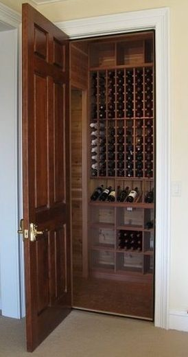 Turn A Closet Into Wine Cellar How To