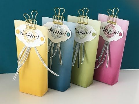 Ombre Gift Pouches   Video Tutorial with Colourful Seasons DSP
