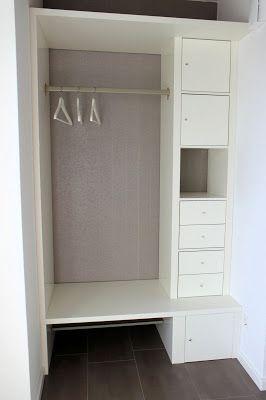 Ikea Hack Eine Flur Garderobe Selber Bauen Garderoben Ecke