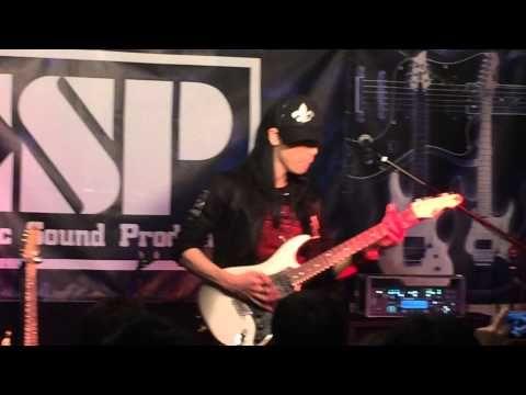 """Never Surrender"", vocal: Atsushi Kuze (Concerto Moon), guitar: Takayosh..."
