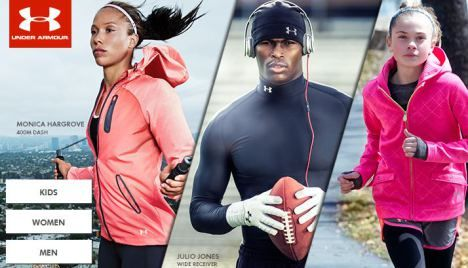 under armour sale clothing