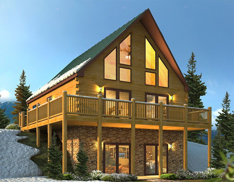 Chalet Home Google Search Modular Homes Modular Home Builders Building Systems