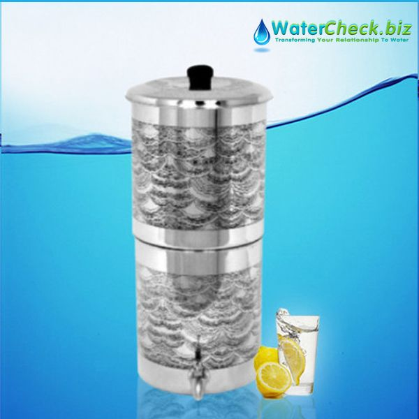 Our Propur Big Seashell Deco Stainless Steel Gravity Fed Fluoride
