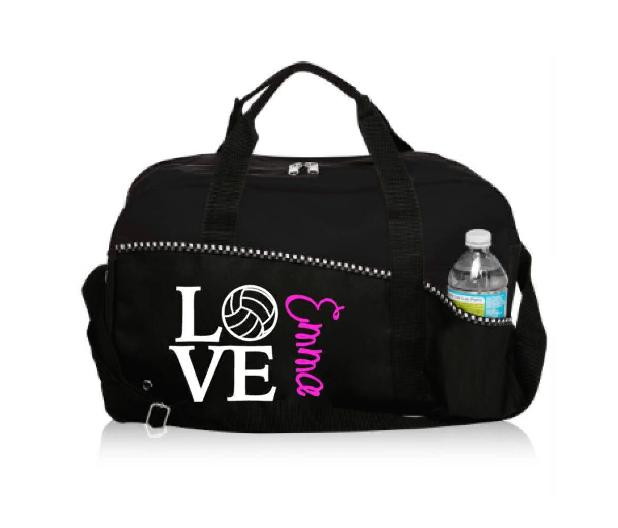 Personalized Love Volleyball Bag Volleyball Bag Bags Volleyball