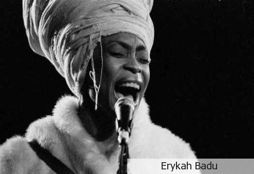 Erykah Badu giving it soul!