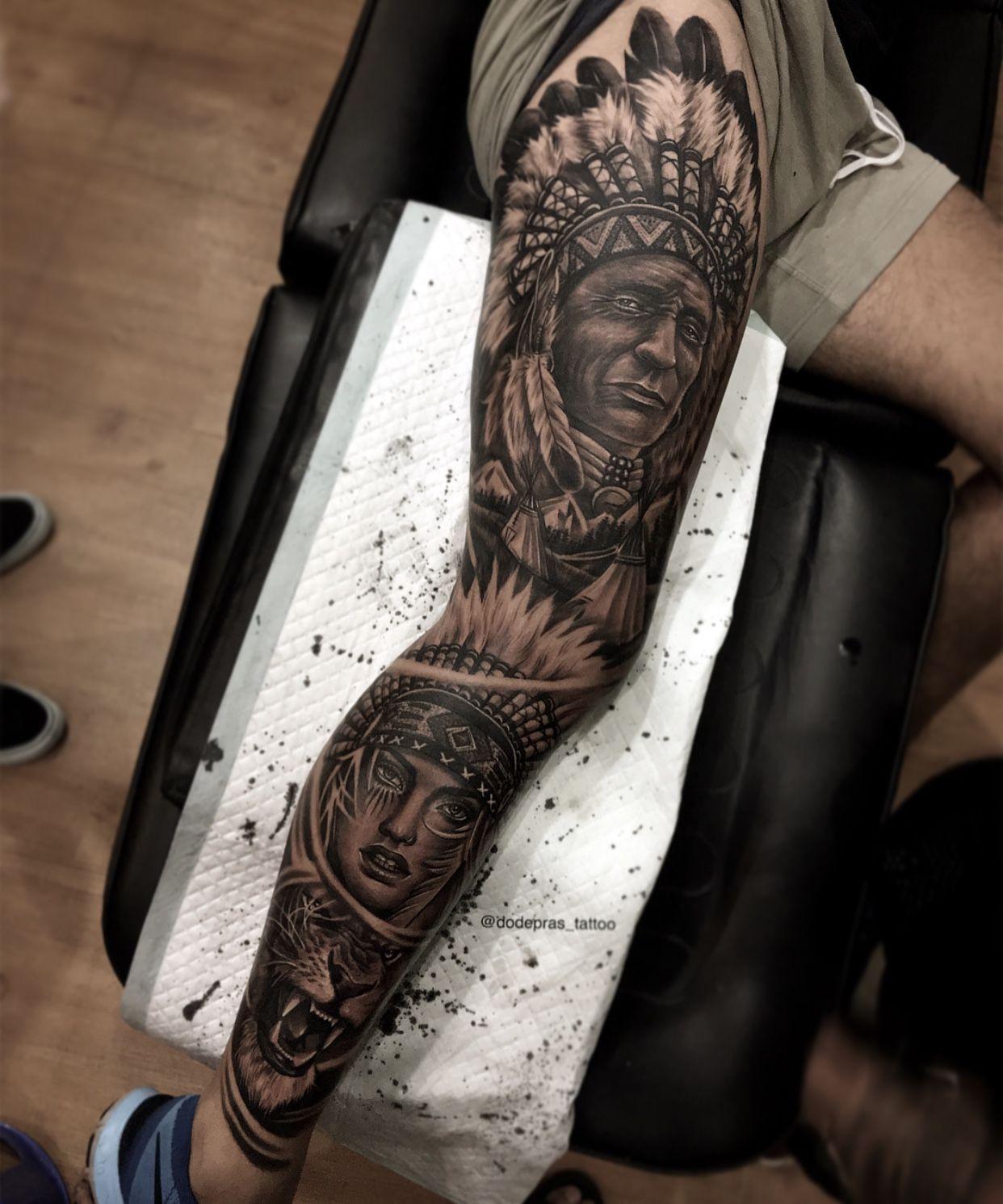 d972f4b90bf3f Leg sleeve | Leg tats | Tatuagens na perna masculinas, Ideias de ...
