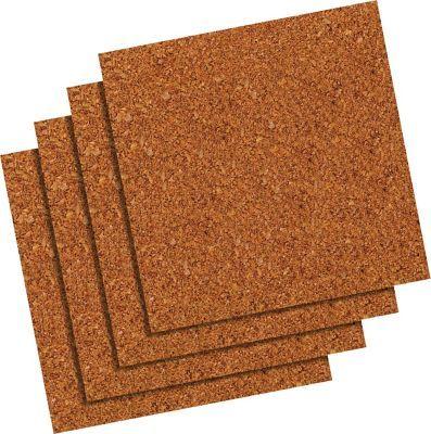 Quartet 12 X 12 Natural Cork Tiles Frameless Modular 4 Pack 102 At Staples Cork Tiles Cork Flooring Cork Panels