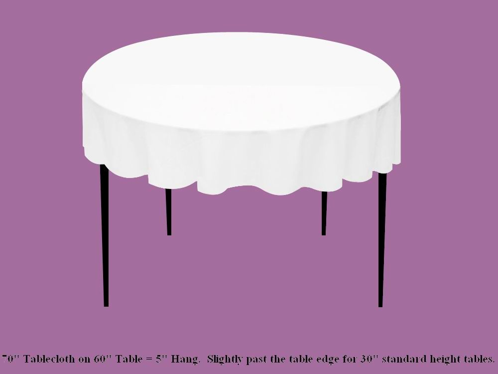 Table Cloth Size Chart By Efavormart.com... Lets You See How Different