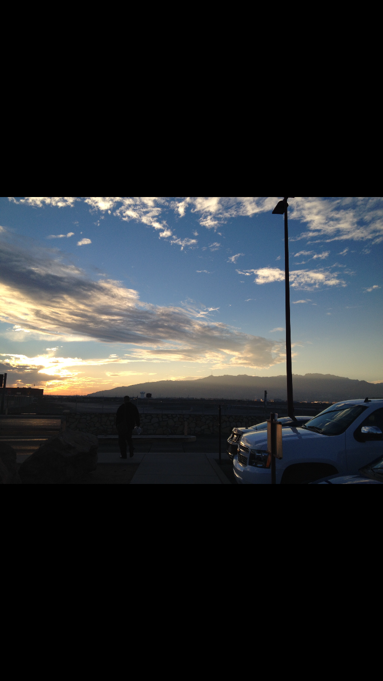 The sky when I ran away