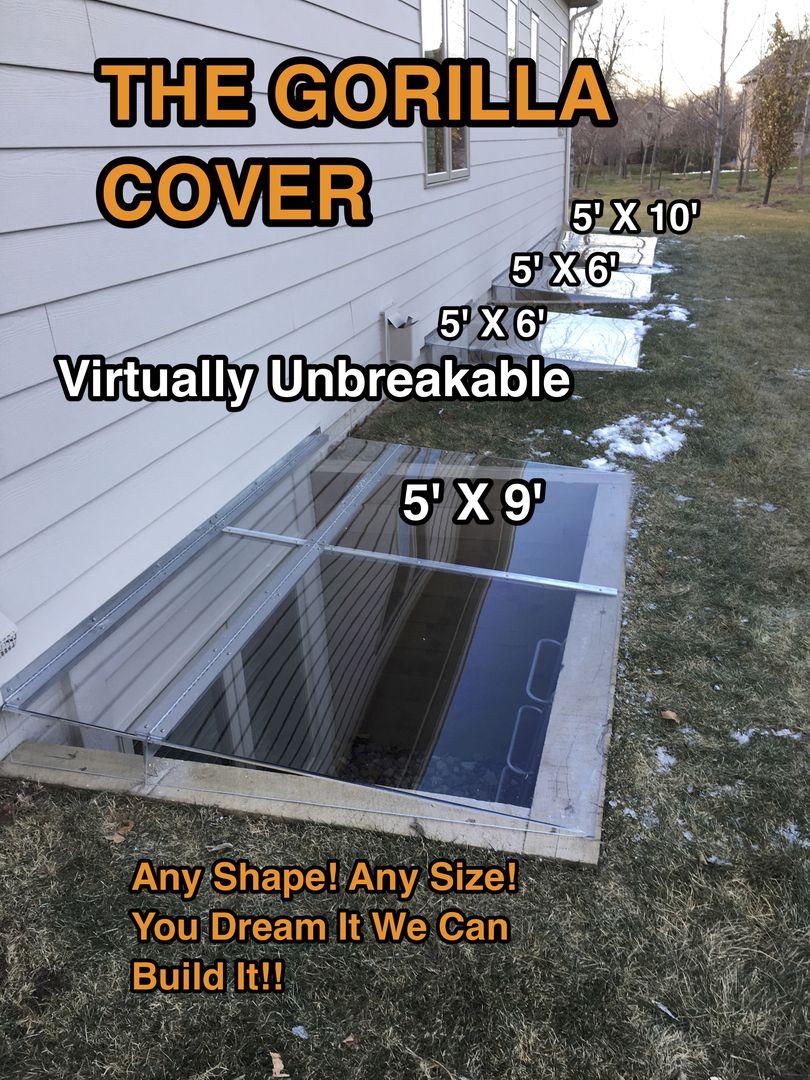 Egress Window Well Covers Basement Window Well Covers Iowa Lowes