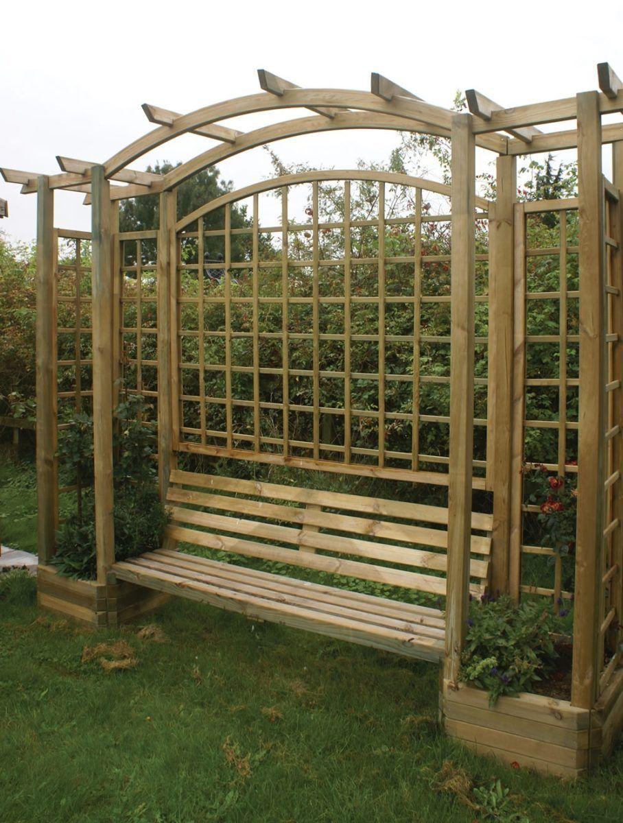 Miraculous 45 Garden Arbor Bench Design Ideas Diy Kits You Can Build Bralicious Painted Fabric Chair Ideas Braliciousco