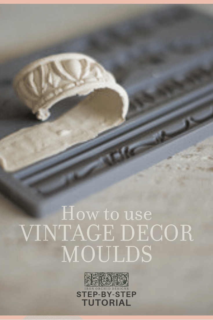 Photo of How to use Vintage Moulds to DIY a French Cottage Chalkboard