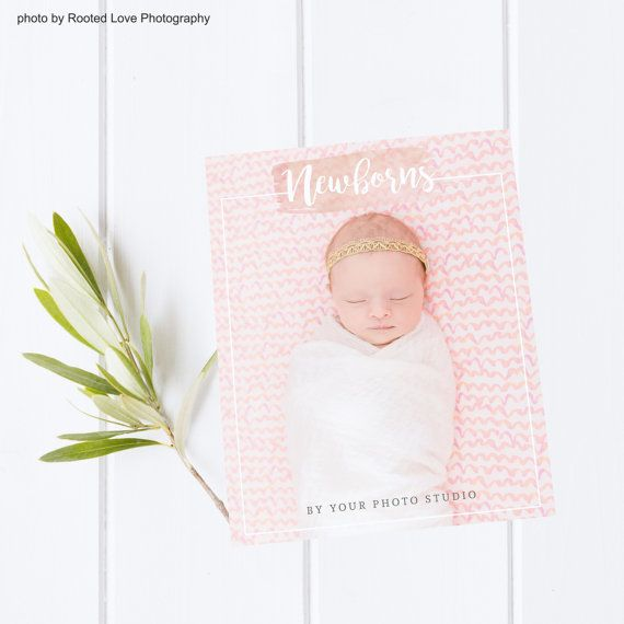 Newborn welcome guide photography marketing template newborn magazine 16 customizable pages with pre written text