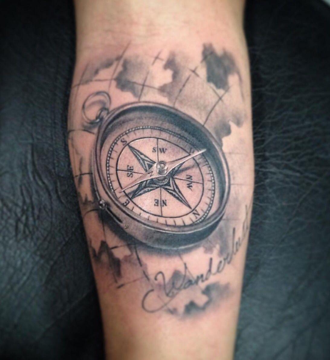 compass tattoo kompass tattoo kompass tattoos und. Black Bedroom Furniture Sets. Home Design Ideas